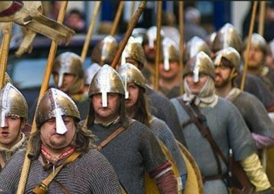 Trip to York for Jorvik Viking Festival